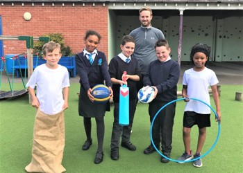 Stimpson Avenue Academy Scoops Gold With School Games Award