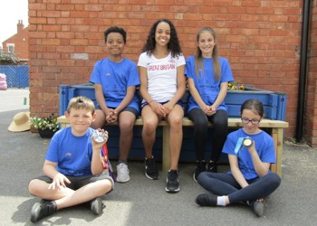 Pupils walk the distance from UK to Tokyo ahead of summer Olympics